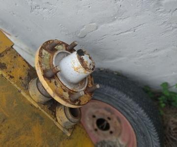 Ступица колеса большого RIVIERRE CASALIS 42