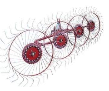 Грабли-ворошилки 4, 5 колес